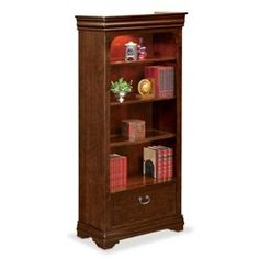 Luxury Lateral File Cabinet with Bookcase