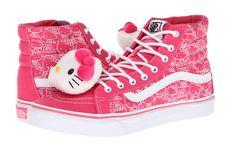 pink hello kitty high top vans sneakers