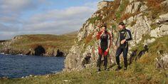 #10 Coasteering Adventure on the Wild Atlantic Explore Kerry's wild Atlantic coast with a spectacular Coasteering adventure along its shores.