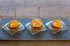 Camarão VM com geléia de pimenta biquinho| Menu Ferradurinha [ Arte Búzios Gastronomia ]