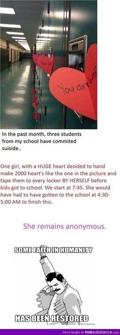 Faith in humanity restored again