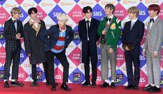 171225 • [PRESS] BTS at 2017 SBS Gayo Daejun Red Carpet #BTS #방탄소년단