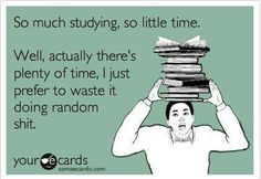 I should try to study harder