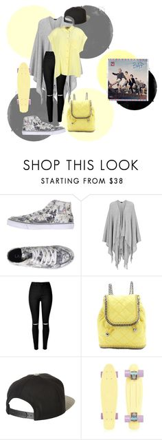"""B.A.PㅁBestㅁAbsoluteㅁPerfect Off-Yellow"" by park-ji-eun ❤ liked on Polyvore featuring L.A. Gear, Joseph, STELLA McCARTNEY, Brixton, Equipment, simple, calm, Stroll and bap"