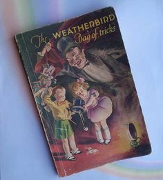 Vintage 30s Weatherbird Shoes Magic Book Bag of by TheSpectrum, $10.00