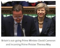 Welcome to Solenzo blog: Photos: Cameron officially leaves office, wishes UK 'continued success