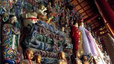 gods, gods, gods... in Kaifang, Henan province. It was once the capital of the Northern Song Dynasty
