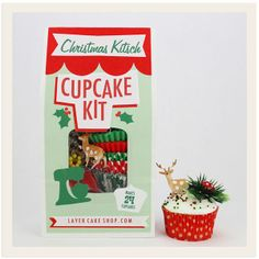 Christmas Kitsch Cupcake Kit from the Layer Cake Shop