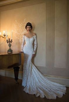 slinky wedding dress