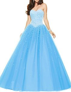 ASBridal Off Shoulder Pearls Ball Gown Prom Dresses for Quinceanera Blue US 4 ASBridal http://www.amazon.com/dp/B016EJA51O/ref=cm_sw_r_pi_dp_D73gwb1C45G22