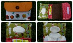 Baby kit (diaper and wipes pouch) Baby Kit, Pouch, Sachets, Hip Bag