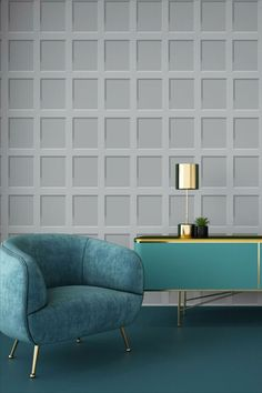 This stylish Heritage Wood Panel Wallpaper will make a great feature in your home. The design is based on wood panels in soft tones of pale grey with clever shading for a stunning 3D effect and a smooth finish. Easy to apply, this high quality wallpaper will look great when used to decorate a whole room or to create a distinctive feature wall. Wood Effect Wallpaper, Charcoal Wallpaper, Stone Wallpaper, Grey Wallpaper, Paper Wallpaper, White Paneling, Wood Paneling, Vintage Style Wallpaper, Snug Room