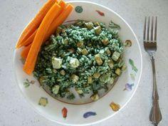 """Green Rice"" with Spirulina"