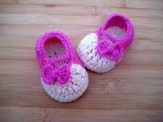 """Crochet Baby shoes booties 3.5"""" / 0-3 months slippers tutorial - YouTube"""