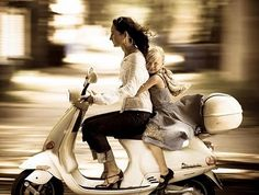 Being a Vespa Mom is so much more FUN than being a soccer mom! Fiat 600, Vespa Girl, Scooter Girl, Vespa Lambretta, Vespa Scooters, Mothering Sunday, The Most Beautiful Girl, Beautiful People, My Style