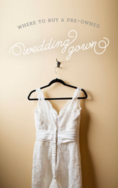 Where to buy a pre owned wedding gown check these trusted sources