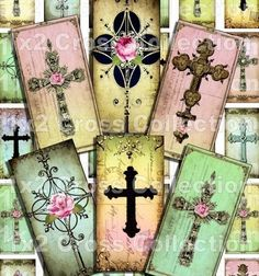 crosses on backgrounds
