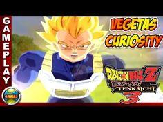 Dragon Ball Z Budokai Tenkaichi 3 #9 Vegetas Curiosity