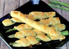 Cream Cheese and Parmesan Asparagus Recipe