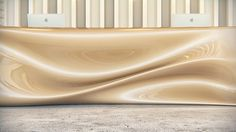 Nitstka Reception Desk by Nuvist