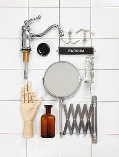 Ma salle de bain façon Cabinet de Curiosités - FrenchyFancy