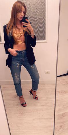 Street Style Skinny Jeans, Street Style, Pants, Fashion, Trouser Pants, Moda, Urban Style, Fashion Styles, Women's Pants