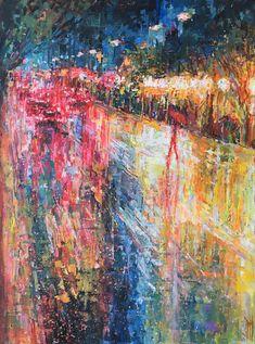 """Coastlines"", 2018, artofjph, 18"" x 24"" acrylic on canvas"