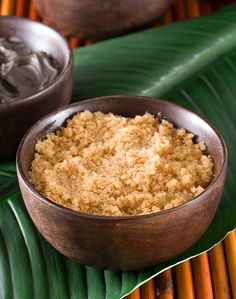 Honey Lemon Sugar Scrub: Mix together 1/2 cup of brown sugar and 1/2 cup of salt in a bowl. Add 1 tablespoon lemon juice, 1 tablespoon coconut oil, 1 tablespoon honey; mix well. Use 1-2 times a week for amazingly smooth skin!