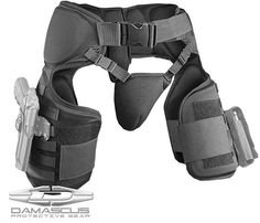 Damascus Imperial Thigh / Groin Protector w/ Molle System - Arquitectura Diseno Tactical Armor, Tactical Survival, Tactical Wear, Molle System, Airsoft Gear, Molle Gear, Tac Gear, Combat Gear, Tactical Equipment