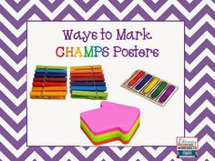 Introduction to CHAMPS Classroom Management