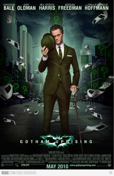 Crap, now I can't see a better match for the role of The Riddler :