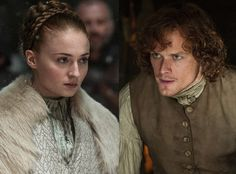Outlander's Rape Scenes Were Far More Graphic Than Game of Thrones'—So Where's the Backlash?  Sophie Turner, Game of Thrones, Sam Heughan, Outlander
