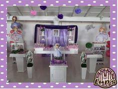 mesa de dulces princesa sofia Princess Sofia Party, Bar, Candy, Furniture, Home Decor, Princess Sofia, Candy Stations, Mesas, Decoration Home