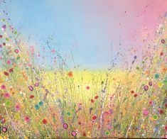 The Sea is Singing the Sweetest Love Songs is an original artwork by UK Flower Artist Yvonne Coomber using oil paint on a canvas surface. #flowerart #wallart #oilpainting