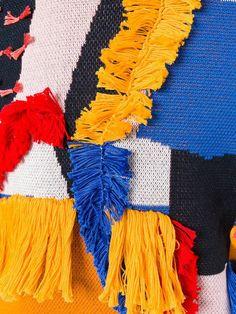 Shop Henrik Vibskov abstract textured jumper.