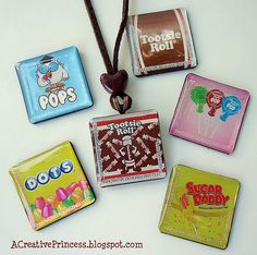 20 Handmade Gifts to Make.  These necklaces are so cute.