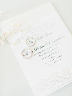 Classic letterpress invitations: http://www.stylemepretty.com/2016/04/26/letterpress-wedding-invitations-to-inspire-your-celebration/