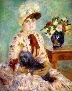 Renoir- Mlle Charlotte Berthier 1883