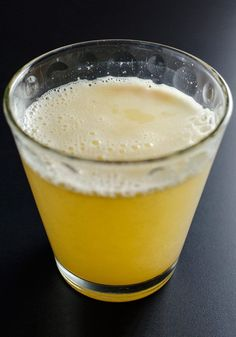Apple Cider Vinegar Lemon Ginger Tonic    Give a healthful boost to your immune system and stave off cold and flu with this powerful apple cider vinegar and lemon ginger tonic.