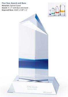 Microsoft 5 Year Service Award