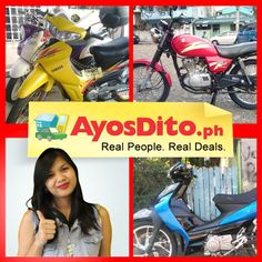 Over Ayos buyers are looking for pre-loved motorcycles on AyosDito. Sell yours now. Real People, Cars And Motorcycles, Yamaha, Ph, Santos