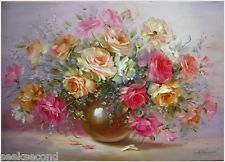 Acrylic Paint by Number kit 50x40cm (20x16'') Roses Painting DIY YZ7123