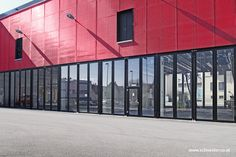 Industrial Doors by SCHNEIDER Torsysteme. High-quality industrial doors made for Europe and worldwide: (Sliding) Folding Doors, Folding Doors, Sliding Door, Circular-track sliding Doors. Industrial Door, Folding Doors, Aluminium, Commercial, Multi Story Building, Glass, Fire Department, Steel, Drinkware