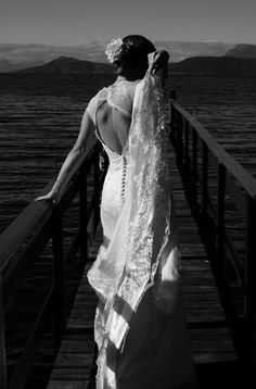 Photograph from my wedding in the north of Norway in August Photograph by me/assistant. August 2013, Norway, Photographs, Backless, Summer, Wedding, Dresses, Fashion, Valentines Day Weddings