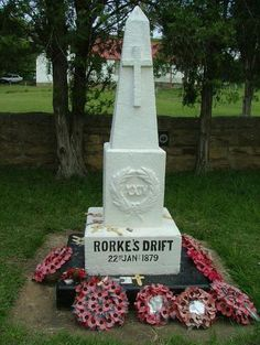Rorke's Drift. Photo of The memorial to the dead of the at Rorke's Drift. This memorial is situated in the graveyard to he South of the old storehouse. It is a walled grave and well worth a look. Zulu Warrior, War Memorials, War Image, Kwazulu Natal, British Soldier, Before Us, British History, Military History, Victorian Era