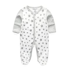 2d1b5ff1a300 Baby pajamas baby rompers baby clothes long sleeve cotton rompers Baby  Rompers