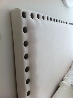 Headboard DIY to do soon : ) Have always wanted a headboard and have always whinged about how much they cost.