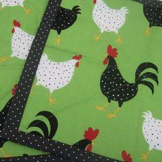 Polka Dot Chicken Place Mat
