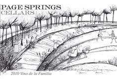 Want! Page Spring Cellars 2010 Vino de la Familia