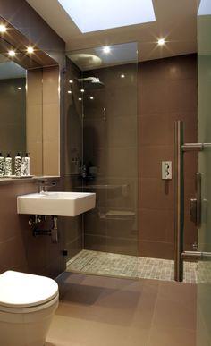 bathroom idea walk in shower